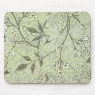 William Morris Jasmine Wallpaper Mouse Pad