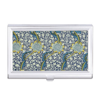 William Morris Kennet Pattern (Blue) Business Card Holders