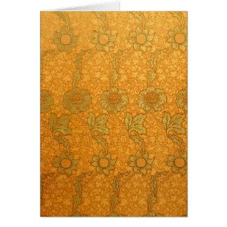 William Morris Kennet Pattern Card