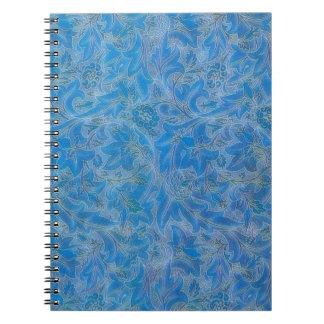 William Morris Lea Vintage Floral Spiral Notebook