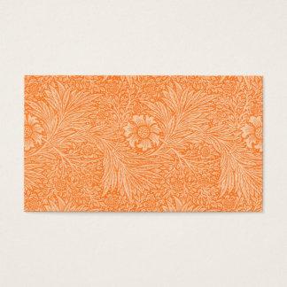 William Morris Orange Flora Reception Seating Card