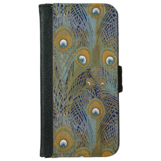William Morris Peacock Feathers iPhone 6 Wallet Case