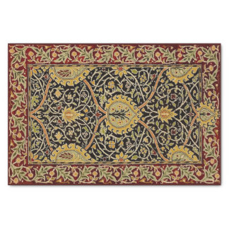 William Morris Persian Carpet Art Print Design Tissue Paper