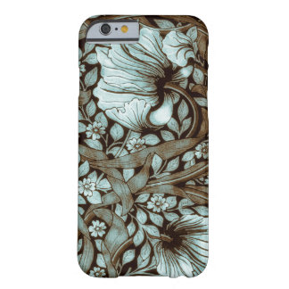 William Morris Pimpernel Vintage Floral Barely There iPhone 6 Case