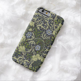 William Morris Seaweed Pattern Floral Vintage Art Barely There iPhone 6 Case