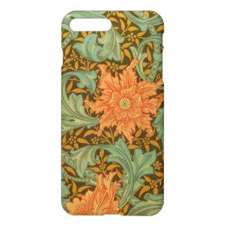 William Morris Single Stem Pattern Art Nouveau iPhone 7 Plus Case