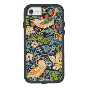 William Morris Strawberry Thief Floral Pattern Case-Mate Tough Extreme iPhone 8/7 Case