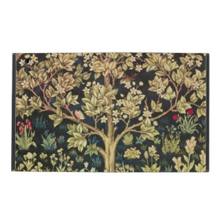 William Morris Tree Of Life Vintage Pre-Raphaelite iPad Folio Case