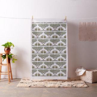 William Morris Vintage Wallpaper Tree Pattern Fabric