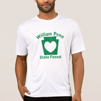 William Penn SF Heart - Men's Microfiber T T-Shirt