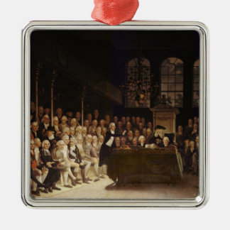 William Pitt addressing the House Christmas Ornament