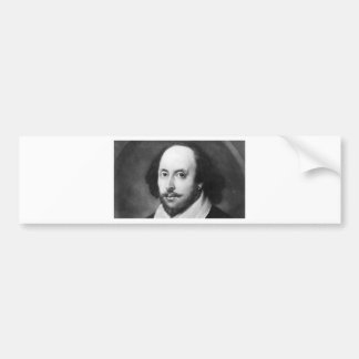 William Shakespeare Bumper Sticker