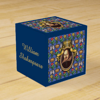 William Shakespeare Favour Box