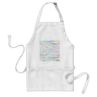 William Text Design II Standard Apron