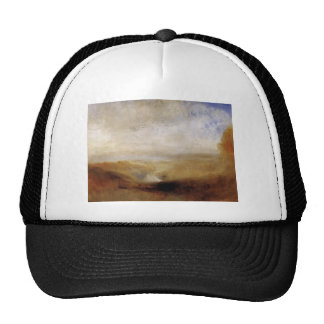 William Turner- Landscape with a River and a Bay Trucker Hat