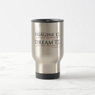 William Ward Imagine Quote Travel Mug