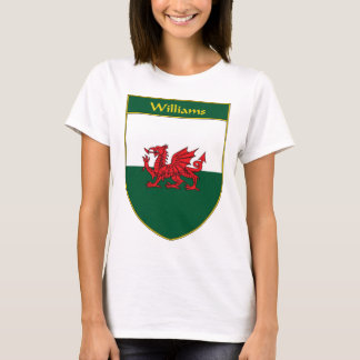 Williams Welsh Flag Shield T-Shirt