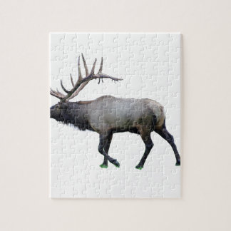 Willow Wapiti elk Jigsaw Puzzle