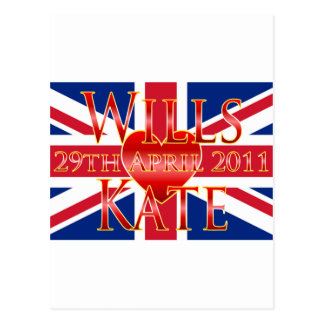 Wills & Kate Postcard