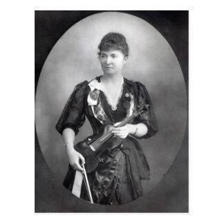 Wilma Norma Neruda, Lady Halle Postcard