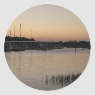 Wilmington Bradley Creek Series Classic Round Sticker