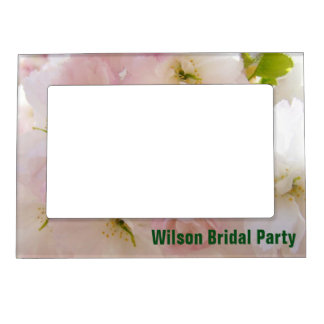 Wilson Bridal Party photo frames Pastel Blossoms