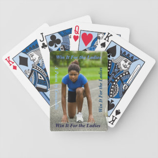 Win It - the Run Playing Cards
