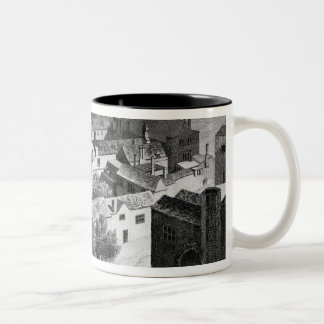 Winchester House, Southwark in about 1649 Two-Tone Coffee Mug