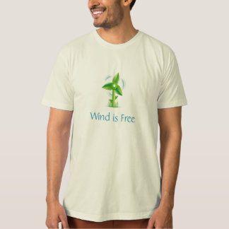 Wind is Free T-Shirt