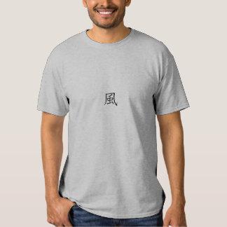 Wind Japanese Character Shirt