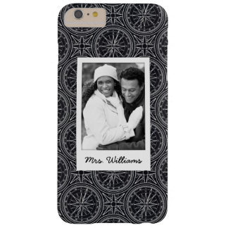 Wind Rose Compass Pattern | Your Photo & Name Barely There iPhone 6 Plus Case