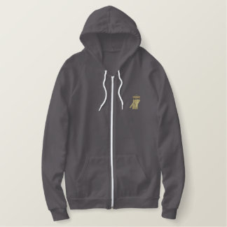 Windchimes Embroidered Hoodie