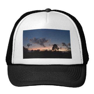 WINDMILL & DAYBREAK RURAL QUEENSLAND AUSTRALIA CAP