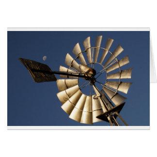 WINDMILL SOUTHERN CROSS RURAL QUEENSLAND AUSTRALIA CARD