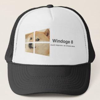 Windoge 8 trucker hat