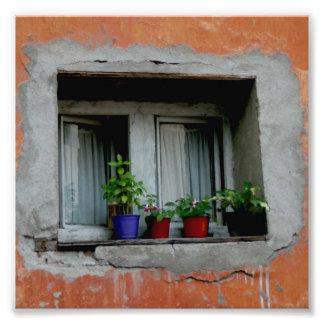 Window in Serbia Photo