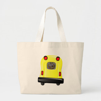 Window licking smiley in the short bus canvas bags