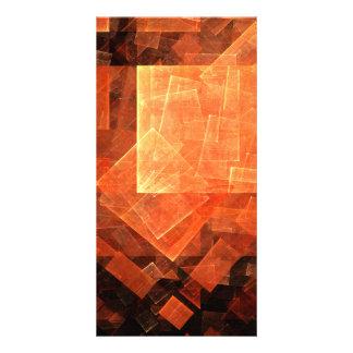 Window Light Abstract Art Photo Card