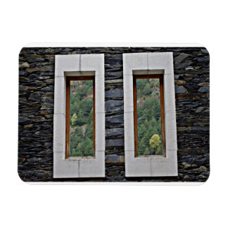 Window on the World La Vella Andorra Magnet