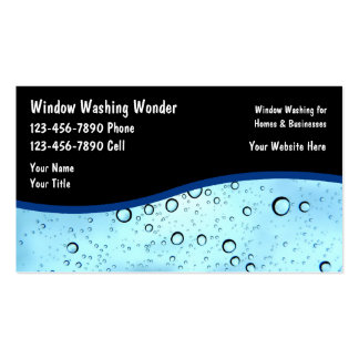 Window cleaning business card templates 209 window for Window cleaning business cards