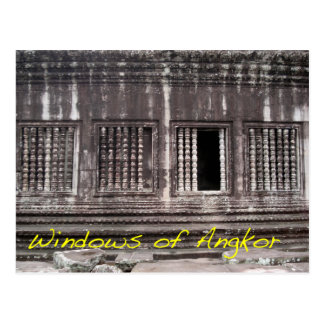 Windows of Angkor Postcard