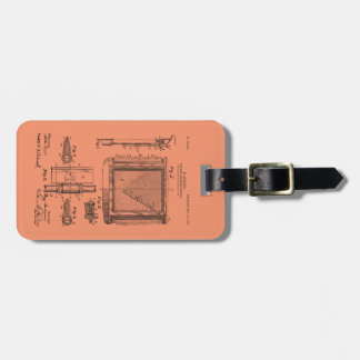 Windshield Wipers, Mary Anderson, Inventor Luggage Tag