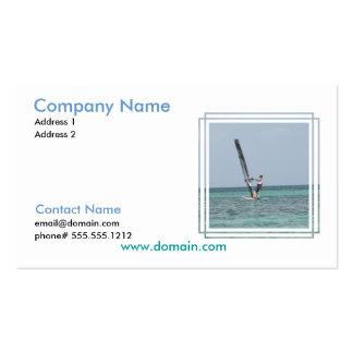 Windsurfing Basics Business Card