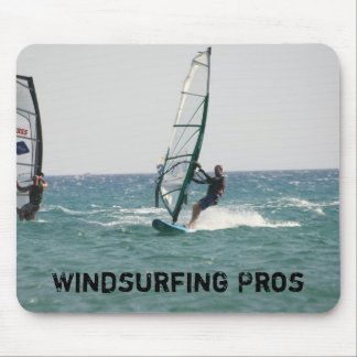 Windsurfing Pros Mouse Pad