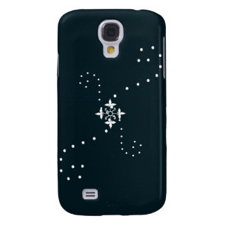 Windy Snowflake Collection Galaxy S4 Case