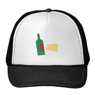 Wine And Cheese Mesh Hats