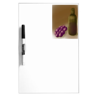 Wine and Grapes Dry-Erase Whiteboards