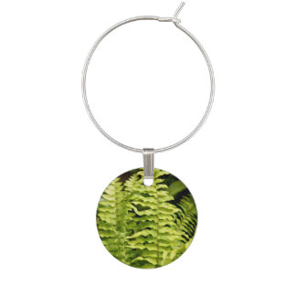 Wine Charm - Tiger Fern