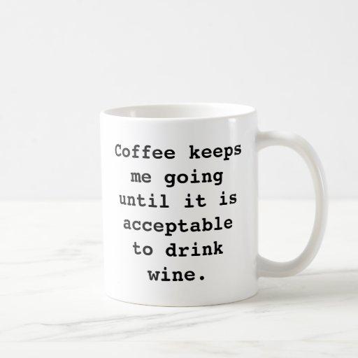Wine Coffee Mug Coffee Mug
