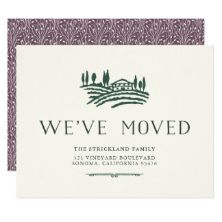 Wine Country Moving Announcement